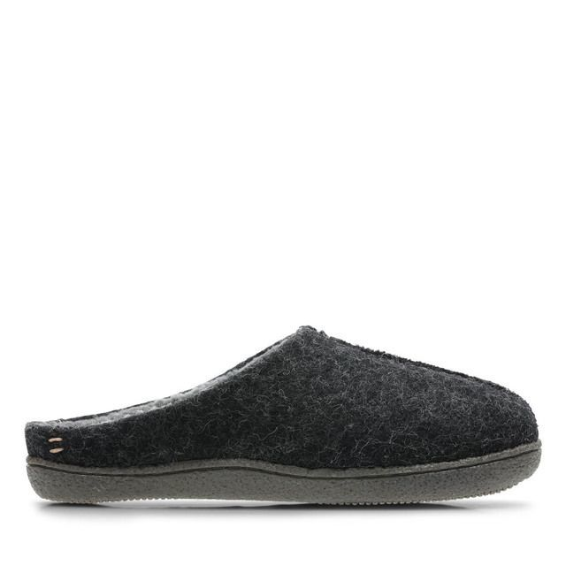 Clarks Mules - Dark Grey - 3546/77G RELAXED STYLE