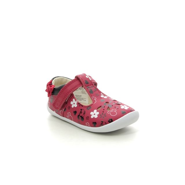 Clarks First Shoes - Red - 534826F ROAMER BOW T