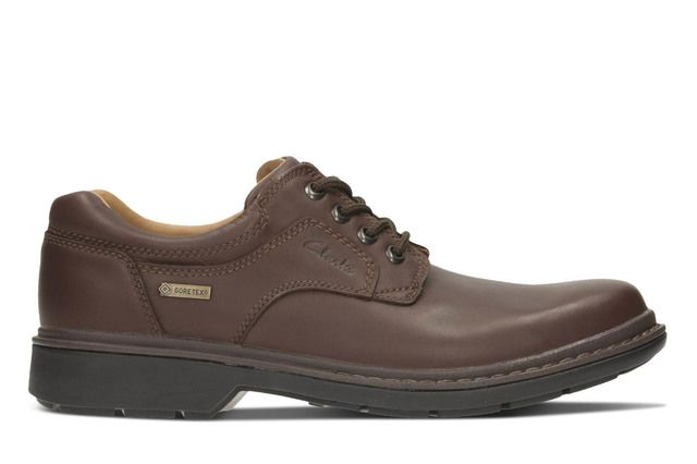 Clarks Casual Shoes - Brown - 1860/67G ROCKIE LO GORE-TEX