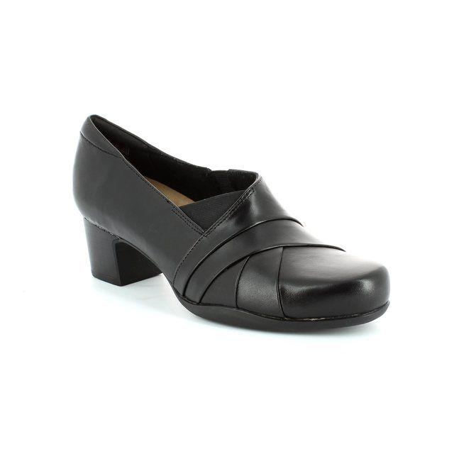 Clarks Rosalyn Adele D Fit Black shoe-boots