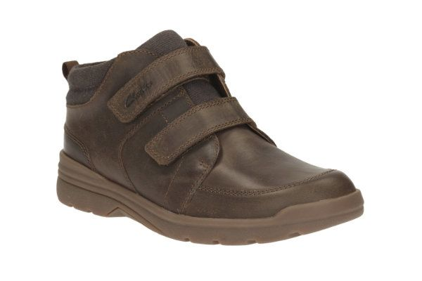 Clarks Shadow Fun Inf G Fit Brown boots