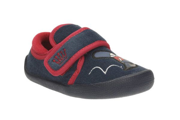 Clarks First Shoes - Navy - 2027/07G SHILO DRUM FST