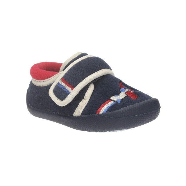 Clarks Shilo Jake Sli G Fit Navy first shoes
