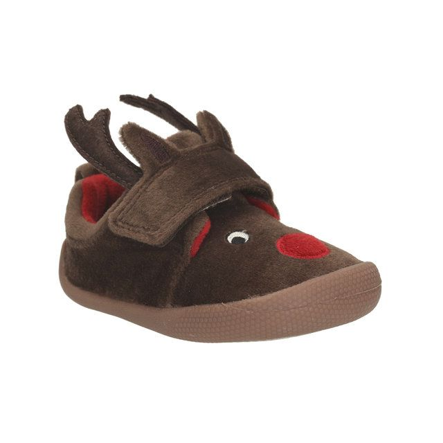 Clarks First Shoes - Brown - 1295/36F SHILO JENA SLI