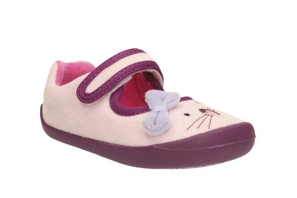 Clarks First Shoes - Pink - 2025/66F SHILOCANDY FST