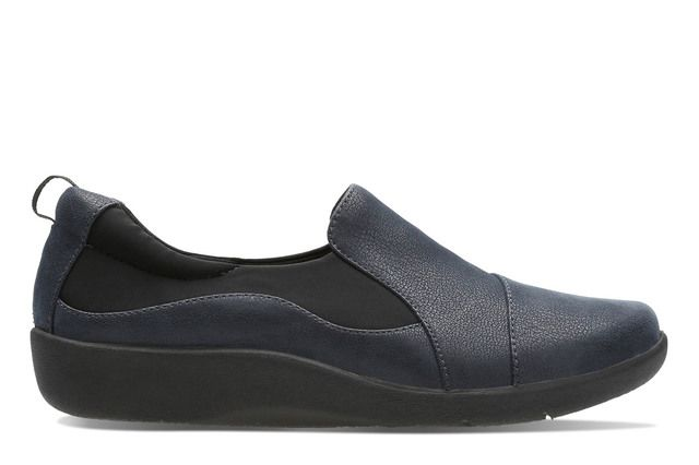 Clarks Comfort Shoes - Navy - 2218/74D SILLIAN PAZ