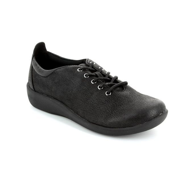 Clarks Trainers - Black - 1233/24D SILLIAN TINO