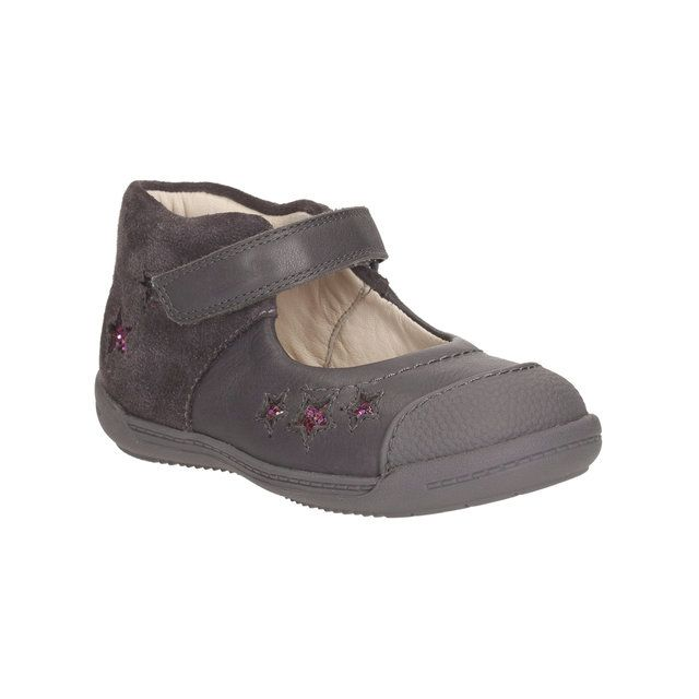 Clarks First Shoes - Grey multi - 1024/47G SOFTLY ZOE FST