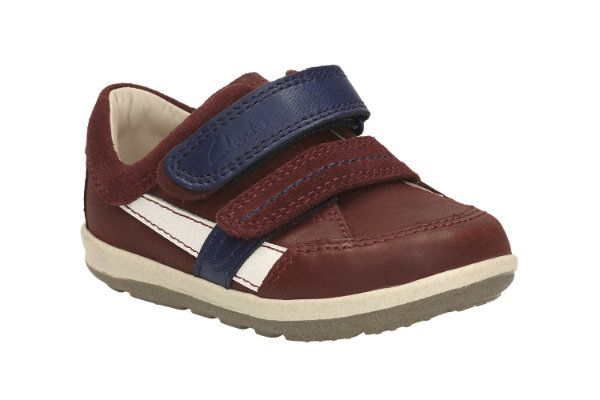 Clarks First Shoes - Brown - 2054/06F SOFTLYZAKK FST
