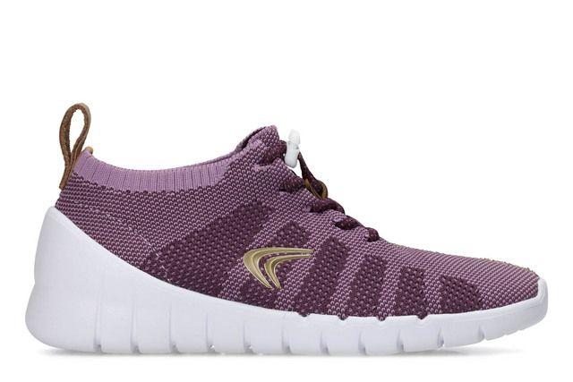 Clarks Sprint Aero G Fit Purple girls trainers