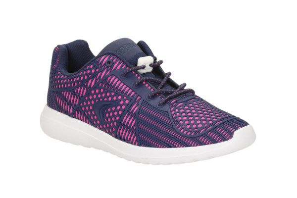 8f0d7325259adc Clarks Piper Chat Inf Pink trainers - F Fit