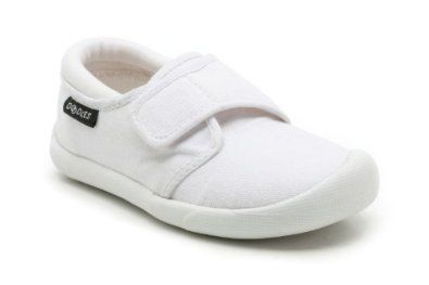Clarks Star Jump F Fit White trainers