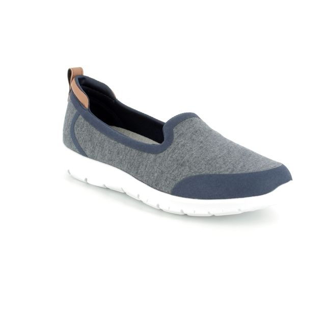 Clarks Trainers - Navy - 3400/64D STEP ALLENA LO