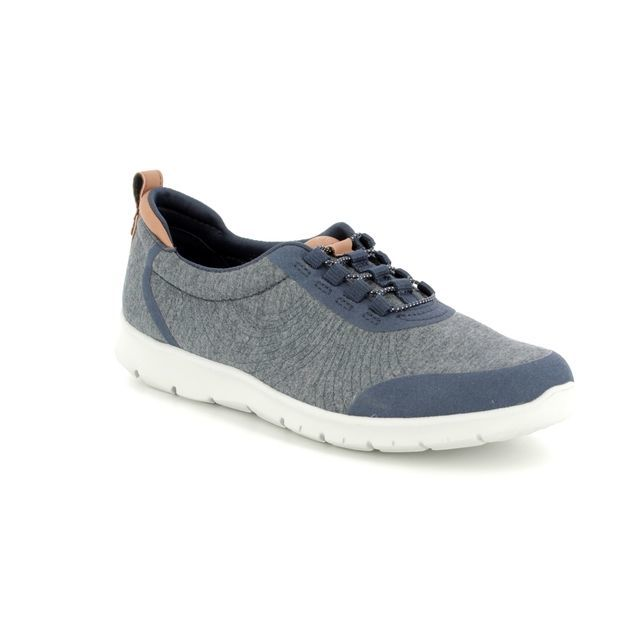 Clarks Trainers - Navy - 3417/94D STEP ALLENABAY