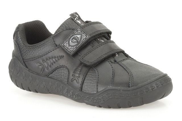 Clarks Stomp Roar Inf F Fit Black everyday shoes