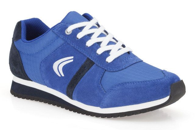 Clarks Super Run Jnr G Fit Blue trainers