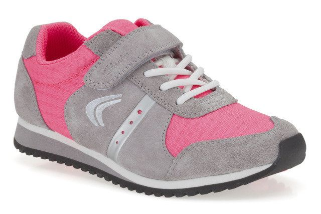 Clarks Trainers - Pink multi - 5739/76F SUPER STEP INF