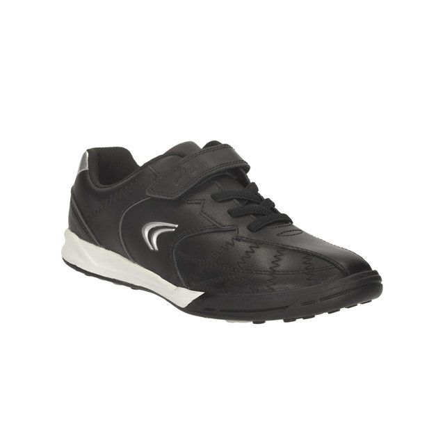 Clarks Swerve Max Jnr G Fit Black trainers