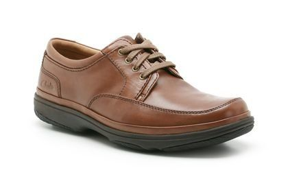 Clarks Swift Mile H Fit Brown casual shoes