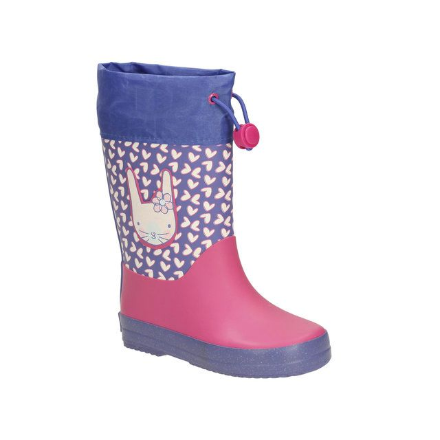 Clarks Tarri Ava Inf F Fit Pink wellies