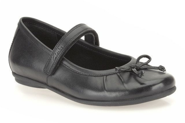 Clarks Tasha Ally Inf F Fit Black everyday shoes