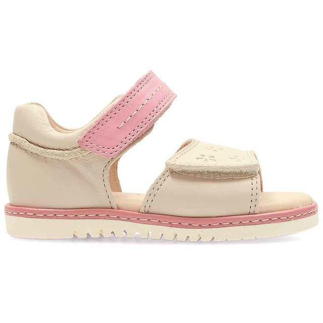 Clarks Tika Ice Fst F Fit Cotton first shoes