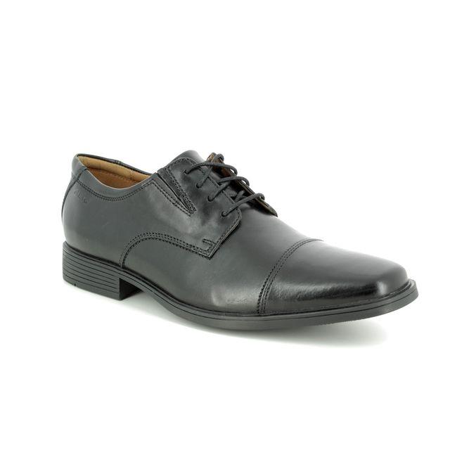 Clarks Formal Shoes - Black leather - 103098H TILDEN CAP
