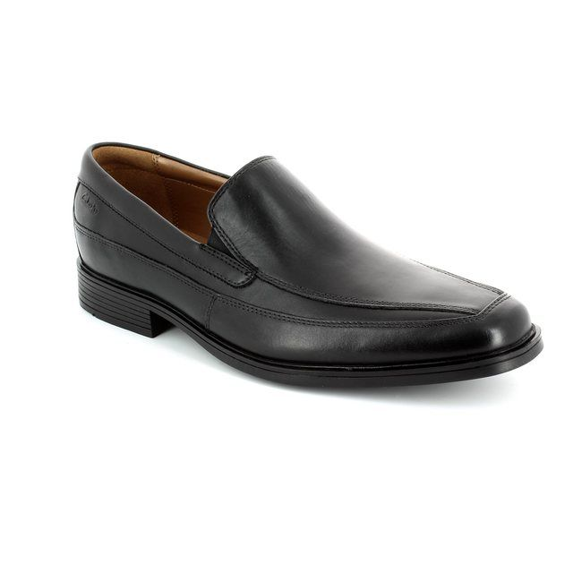 Clarks Tilden Free G Fit Black formal shoes