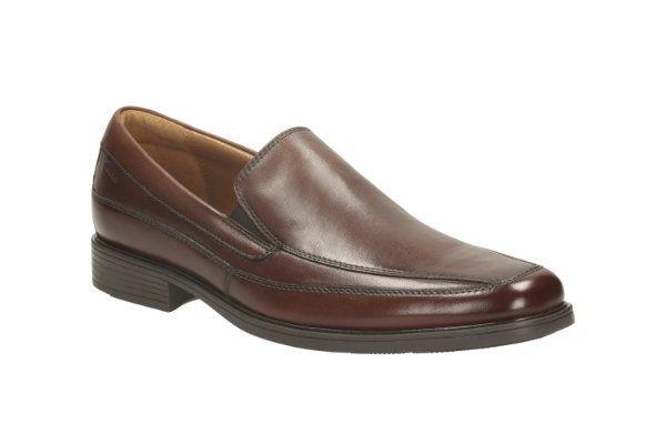 Clarks Tilden Free G Fit Brown formal shoes