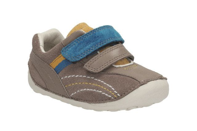 Clarks First Shoes - Brown multi - 0591/96F TINY DEXTON