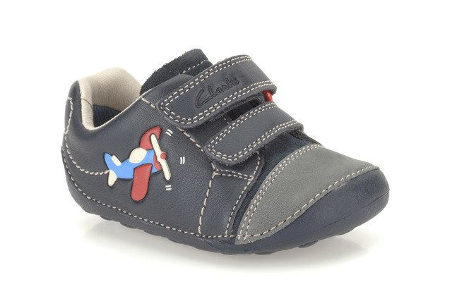 Clarks First Shoes - Navy - 0117/67G TINY JET