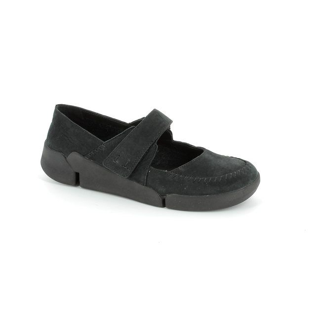 Clarks Tri Amanda D Fit Black comfort shoes
