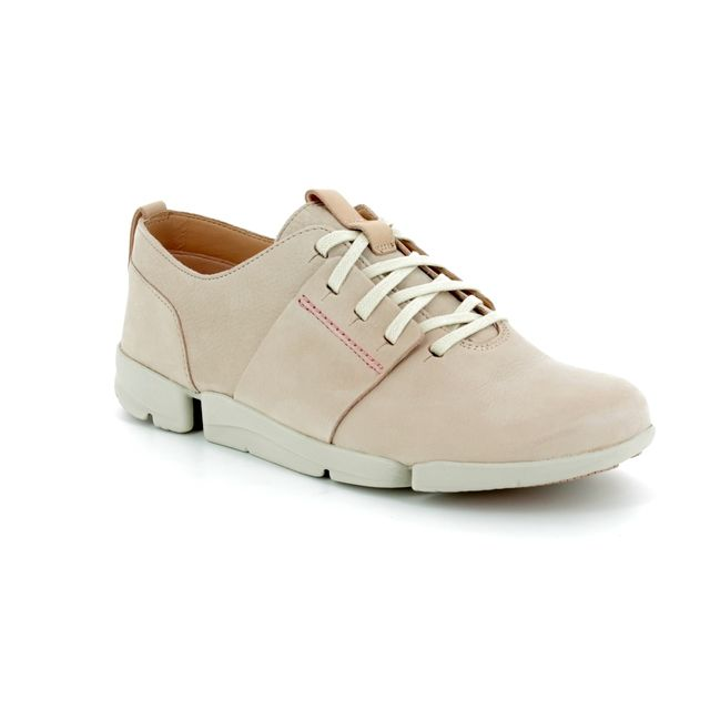 Clarks Trainers - Nude - 3399/44D TRI CAITLIN