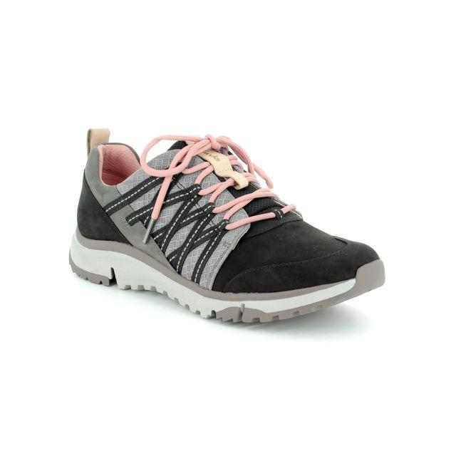 Clarks Walking Shoes - Grey multi - 3097/34D TRI TRAIL