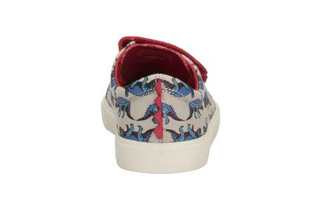 Clarks Tricer Roar F Fit Red multi trainers