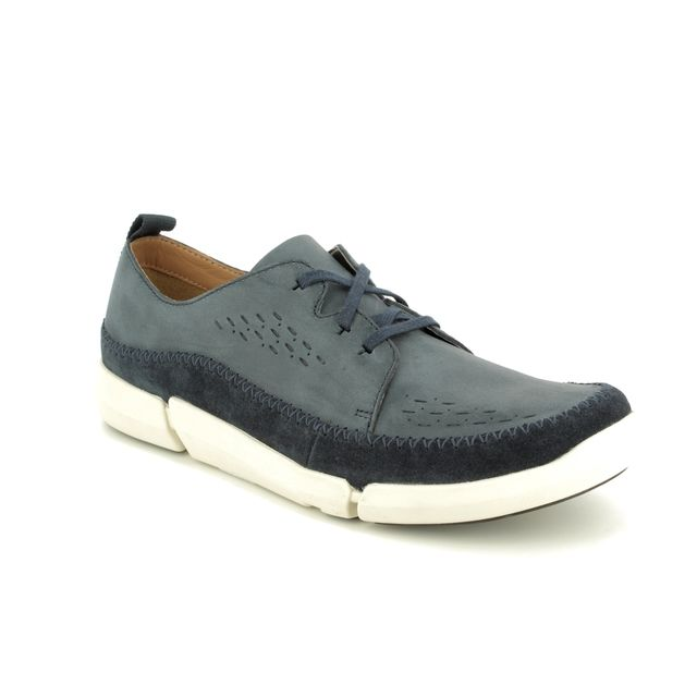 Clarks Fashion Shoes - Navy - 2721/17G TRIFRI LACE