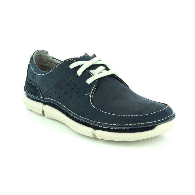 Clarks Trikeyon Fly G Fit Navy casual shoes