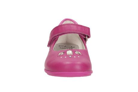 Clarks Trixi Spice In F Fit Pink everyday shoes