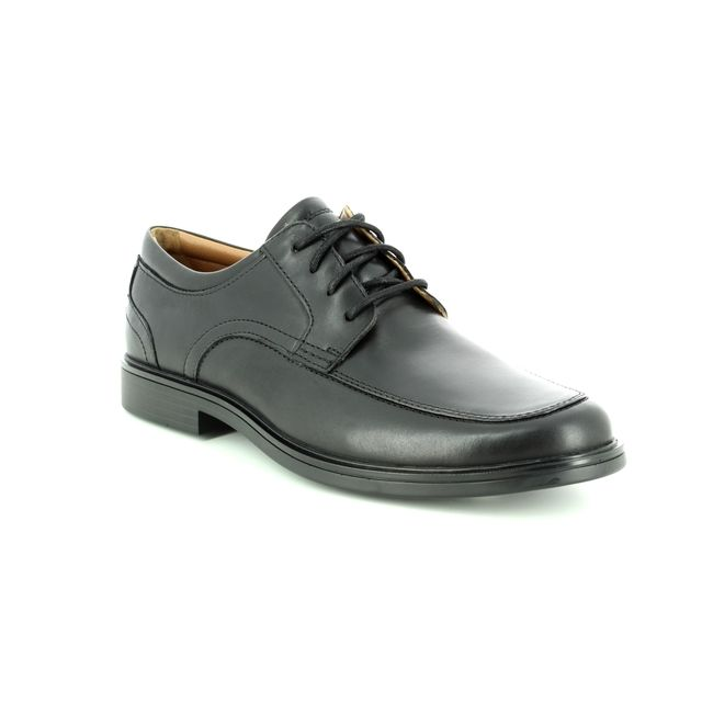 Clarks Formal Shoes - Black leather - 3257/67G UN ALDRIC PARK