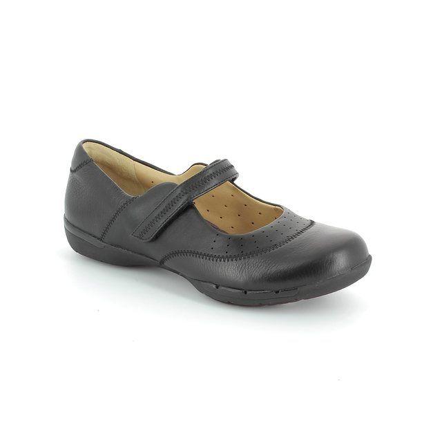 Clarks Un Hazel D Fit Black comfort shoes