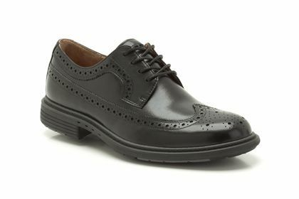 Clarks Un Limit G Fit Black formal shoes