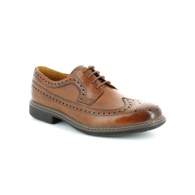 Clarks Un Limit G Fit Tan formal shoes