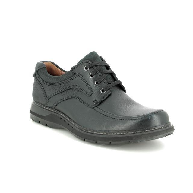 Clarks Formal Shoes - Black leather - 369897G UN RAMBLE LACE