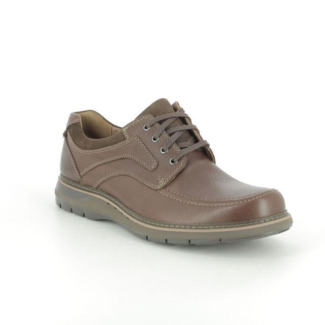 Clarks Casual Shoes - Brown - 381877G UN RAMBLE LACE