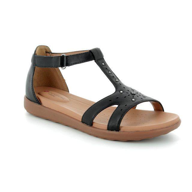 e861ef26195a Clarks Tealite Grace D Fit Navy sandals