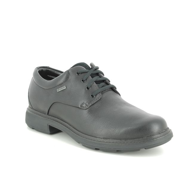 Clarks Formal Shoes - Black leather - 454517G UN TREAD LO GT