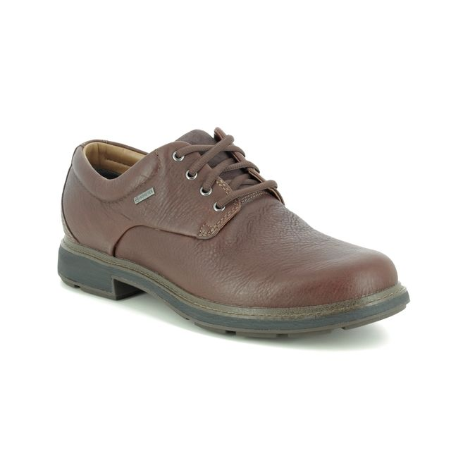Clarks Formal Shoes - Brown leather - 454497G UN TREAD LO GT