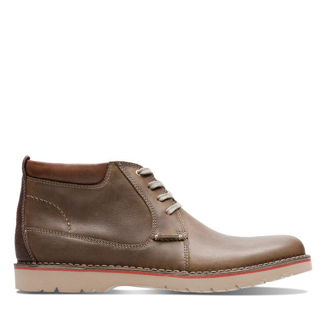 Clarks Boots - Olive - 3667/27G VARGO MID