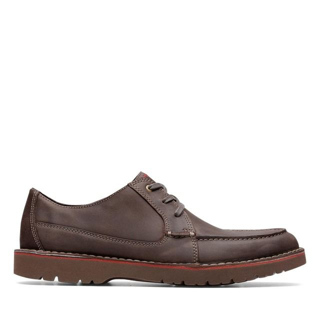 Clarks Formal Shoes - Brown leather - 448227G VARGO VIBE