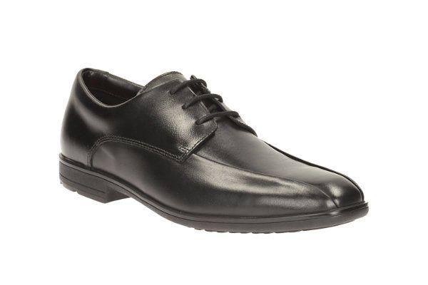 Clarks School Shoes - Black - 1893/96F WILLIS LAD BL